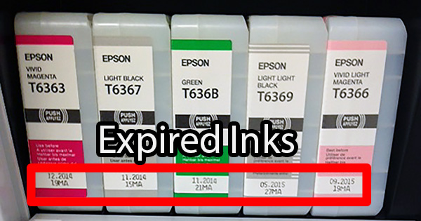 Tech Tip: Does Ink Expire? Can I Use Expired Ink?