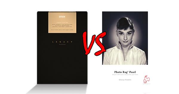 Comparing Hahnemuhle Photo Rag Pearl Vs Epson Legacy Platine Media