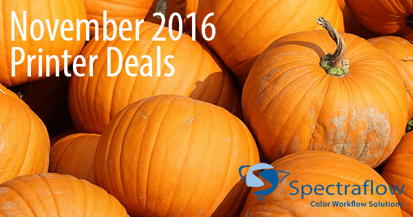 Printer Savings for November 2016