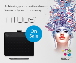 Wacom Intuos Family On Sale